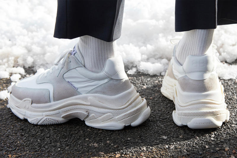 Balenciaga New Triple S White Ecru Online Draw END release info purchase