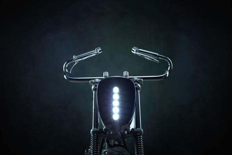 Bandit9 L-Concept Motorcycle sci-fi stainless steel road ready