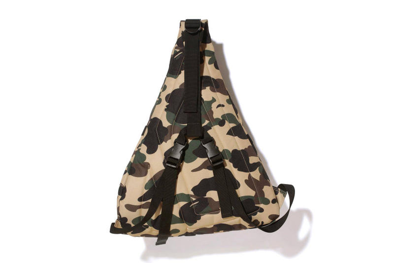 BAPE 1st Camo One Shoulder Bag fashion accessories 2018 march 31 release date info drop