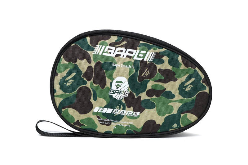 BAPE ABC Table Tennis Set a bathing ape paddle ping pong balls case camouflage camo march 17 2018 release date info drop