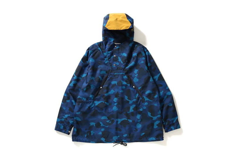 BAPE Gradation Camo Anorak spring summer 2018 march 17 release date info drop