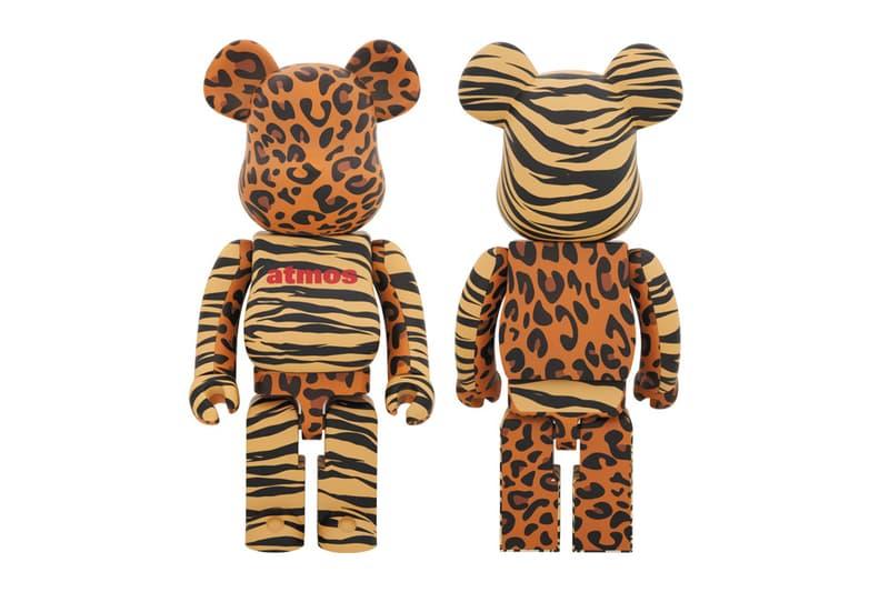 medicom toy bearbrick animal atmos collectible vinyl figure toys art artwork design