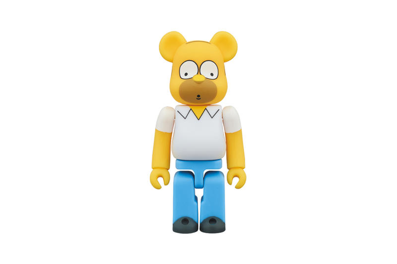 Homer Simpson BE@RBRICK Bearbrick Medicom Toy The Simspons Cartoon Three Sizes collectibles statue