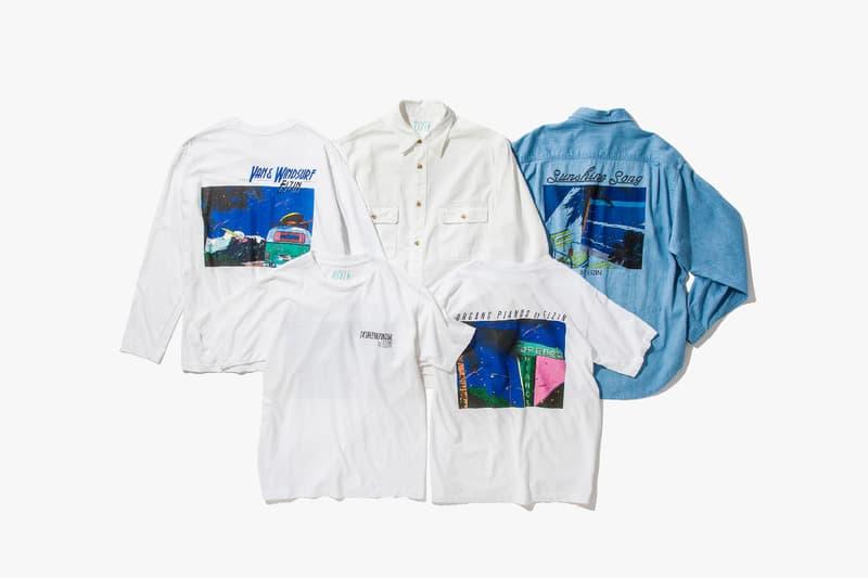 Beauty & Youth x Eizin Suzuki Capsule Japan streetwear Shibuya Tokyo Contemporary Art prints shirts Hideto Suzuki