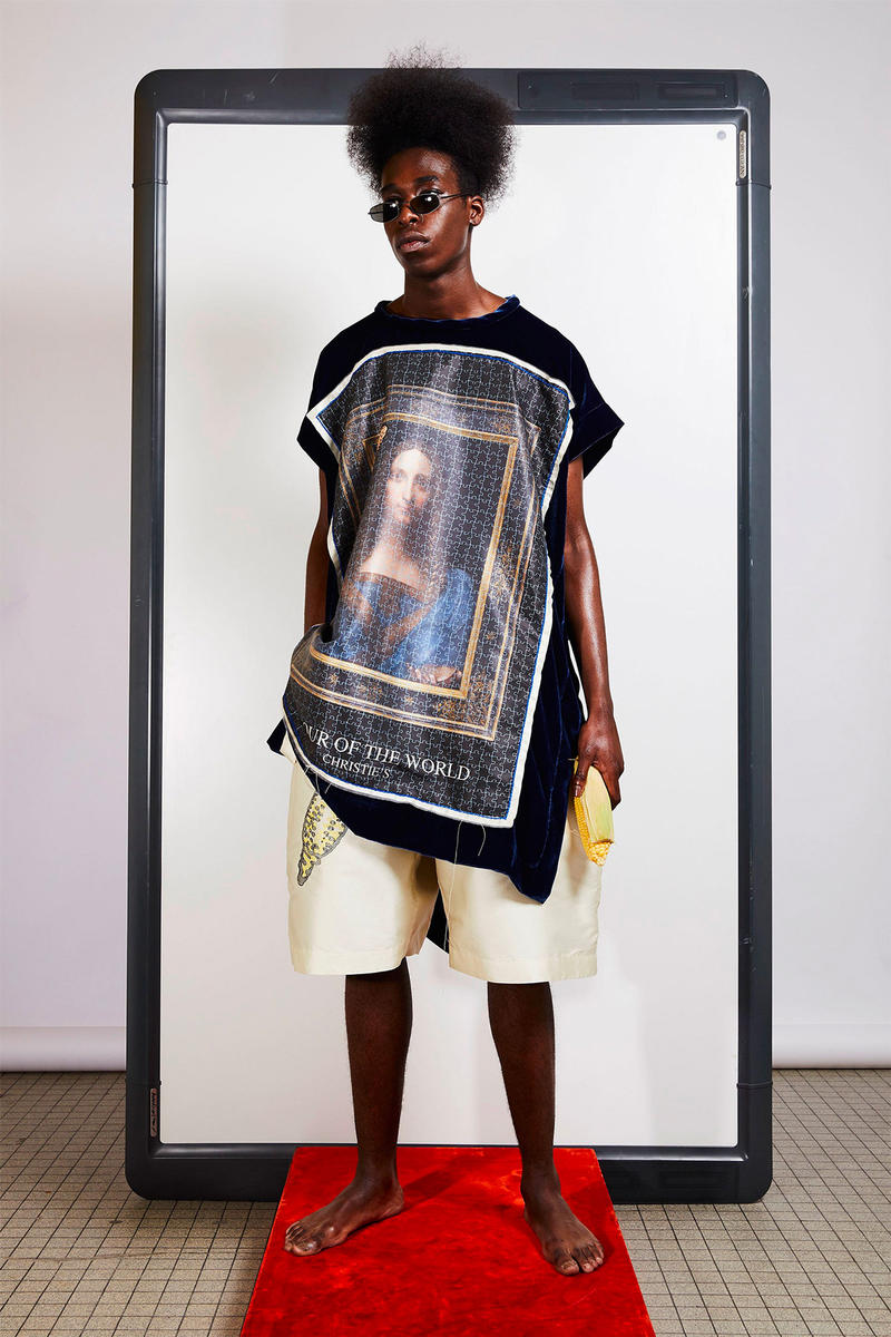 Bernhard Willhelm Fall/Winter 2018 collection Lookbook paris fashion week mona lisa