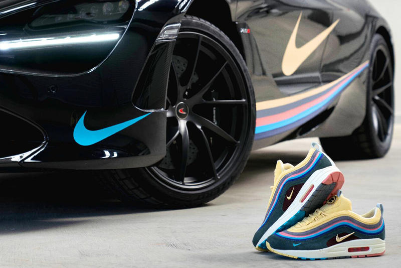 BespokeIND Sean Wotherspoon Air McLaren 97'20 S Car Supercar Streetwear Culture Mens Fashion Sneaker Shoes Basketball