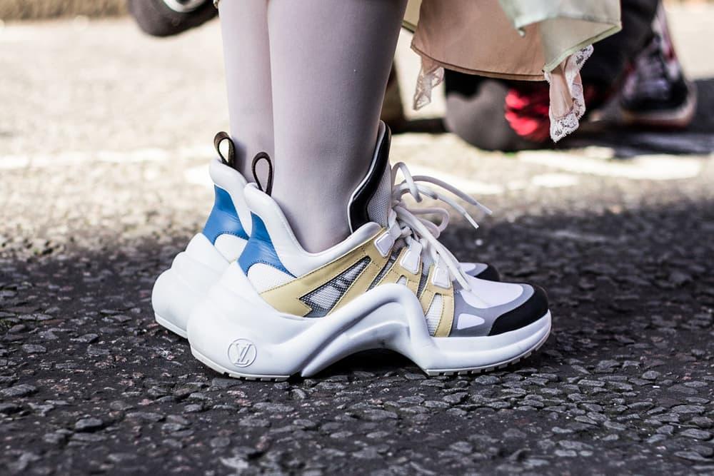 Balenciaga Triple S Louis Vuitton Archlight Kanye West YEEZY adidas Originals Desert Rat 500 Eytys Angel Prada Cloudbust Dior Homme Nike Air Monarch John Elliot