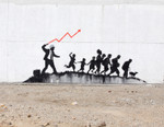 Best New Art: Banksy Invades NYC, James Jean's Stained Glass Works & More