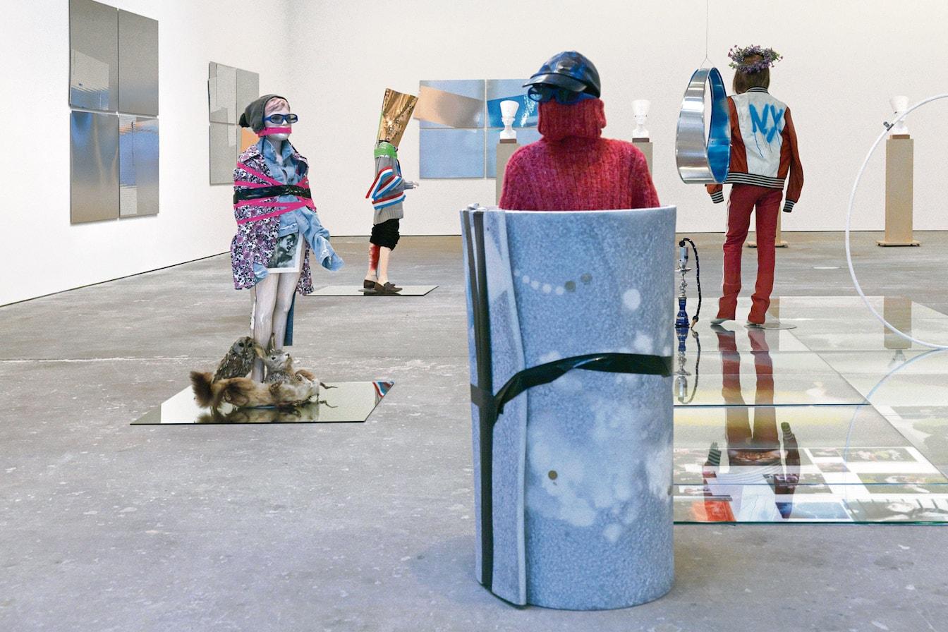 Yayoi Kusama KAWS Isa Genzken Willy Vanderperre Exhibition Art Artworks Exhibits