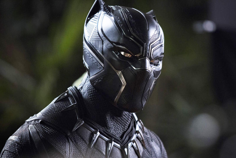 Black Panther in Suit