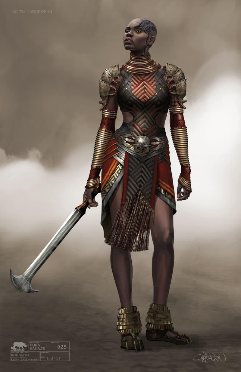 Black Panther Concept Art Closer Look