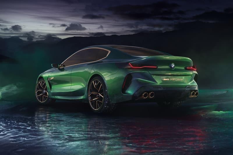 BMW M8 Gran Coupe Concept geneva motor show 2018 m 8 serires Domagoj Dukec
