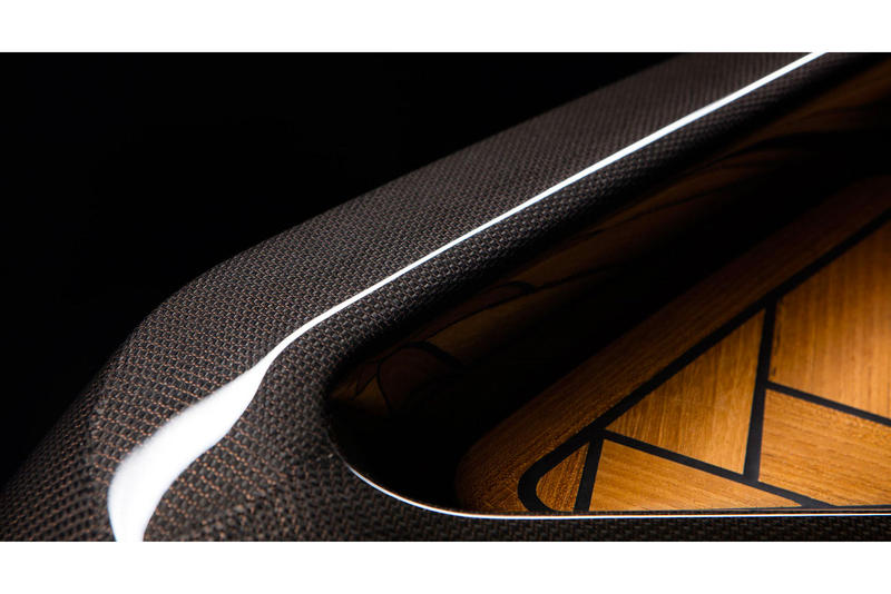 BorromeodeSilva Monocoque Paddle Canoe luxury boat cadillac fins