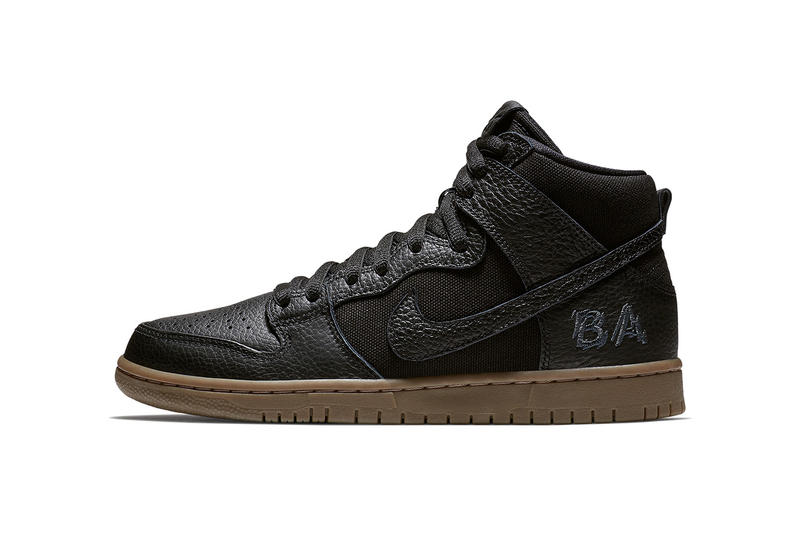 the latest 9829c c58e9 Brian Anderson Nike SB Dunk High 2018 spring summer release date info black  gum sneakers shoes
