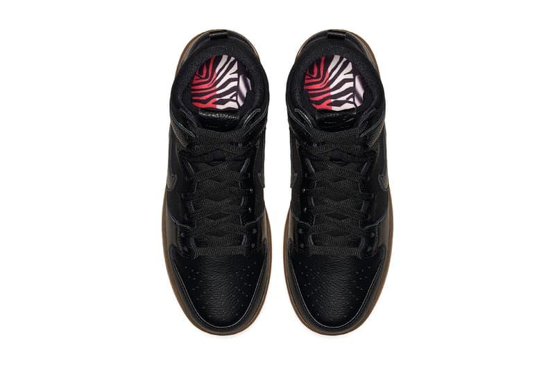 Brian Anderson Nike SB Dunk High 2018 spring summer release date info black gum sneakers shoes footwear drop