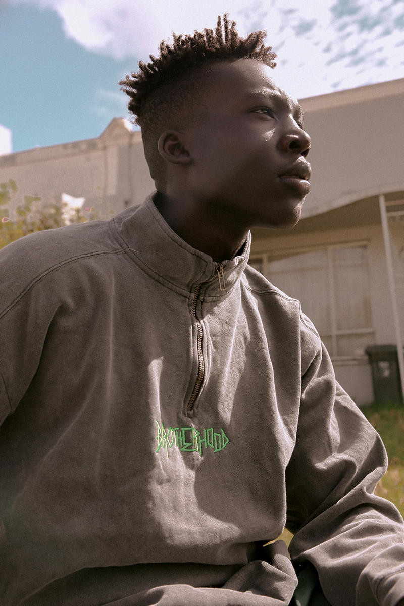 BROTHERHOOD Spring 2018 Editorial release date info drop