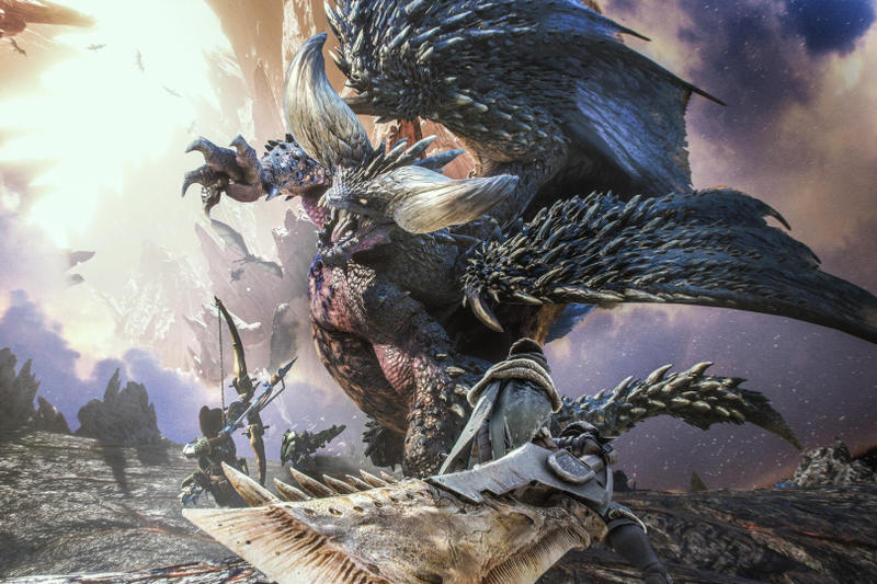 Monster Hunter World Capcom best selling game series ever all time 7 million 2018 january march