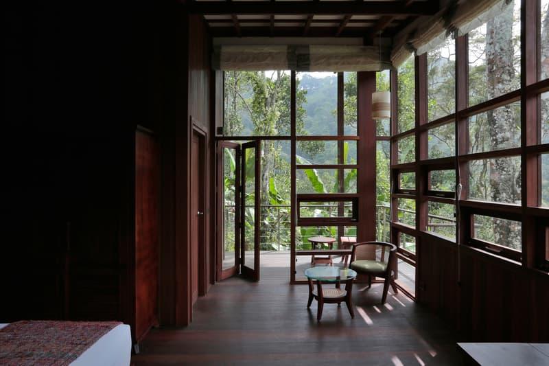 Cardamom Club Kumar La Noce Interior Exterior Wooden Design Jungle Swimming Pool Boutique Resort Retreat Inspiration