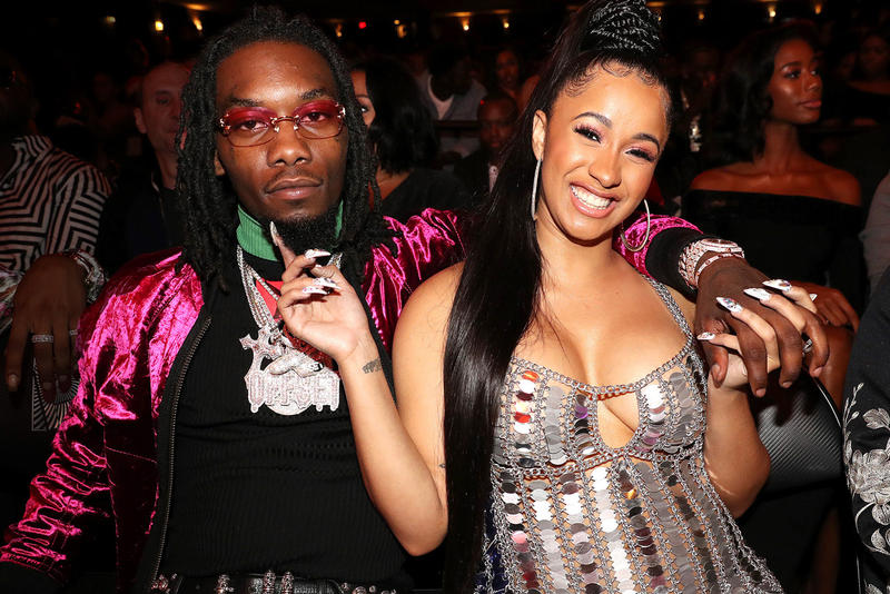 Cardi B Pregnant Offset Expecting First Child July