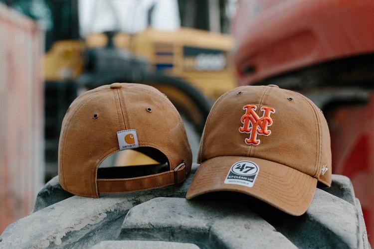 295c747e Carhartt x 47 Brand 2019 MLB Hat Collection   HYPEBEAST