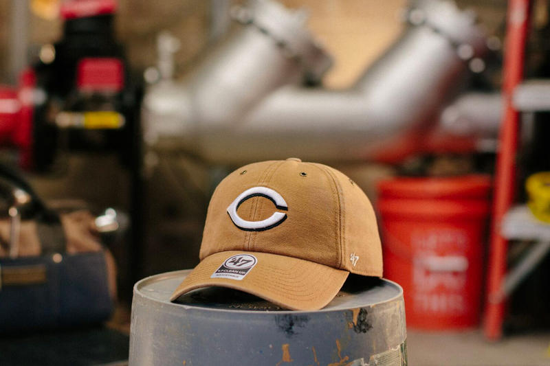 Carhartt x  47 MLB 2018 Hat Collection release purchase price 4f89b8f1144