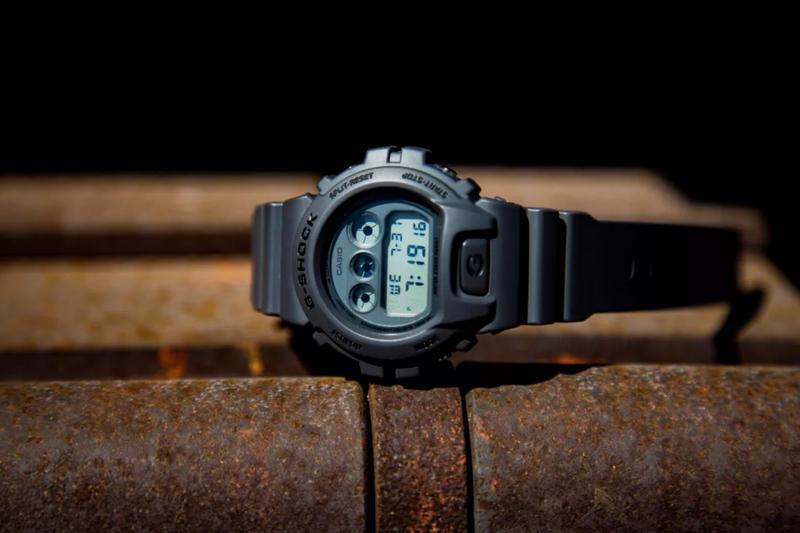 Casio G-Shock DW-6900 Military Series watches release purchase