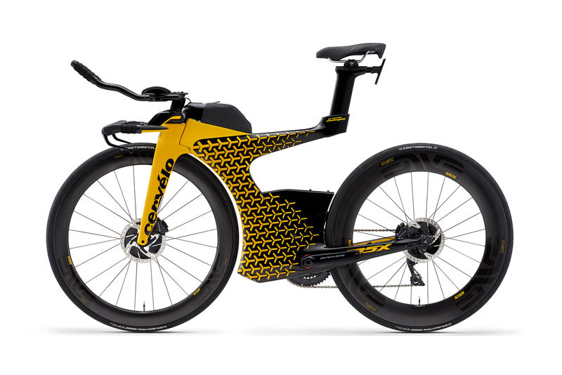 Cervelo P5X Lamborghini Edition Bike 20000 twenty thousand usd dollars 2018 yellow black racing bicycle