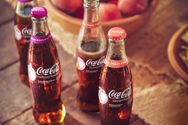 Coca-Cola California Raspberry Georgia Peach