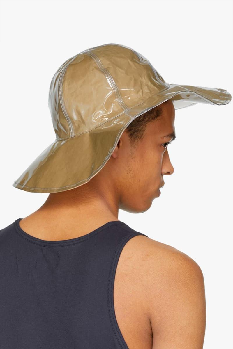 COMME des GARÇONS Beige Paper Hat Available Now purchase release date
