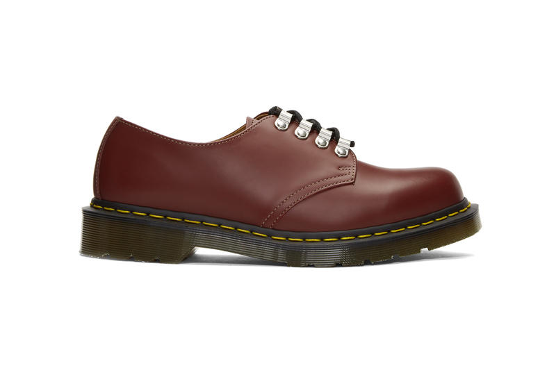 comme des garcons homme deux dr martens Kristinn Lace-up Derby collaboration footwear shoes