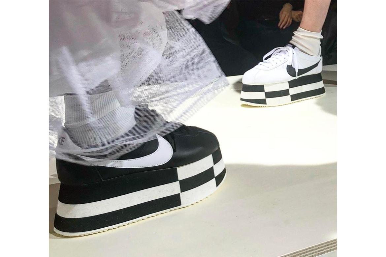 reputable site 97c7a c2f02 COMME des GARÇONS x Nike Cortez Platform Sneaker | HYPEBEAST