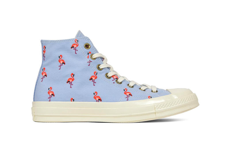 2f45e3673f26 Converse Chuck Taylor  70 Embroidered Flamingo All star high tops release  info purchase