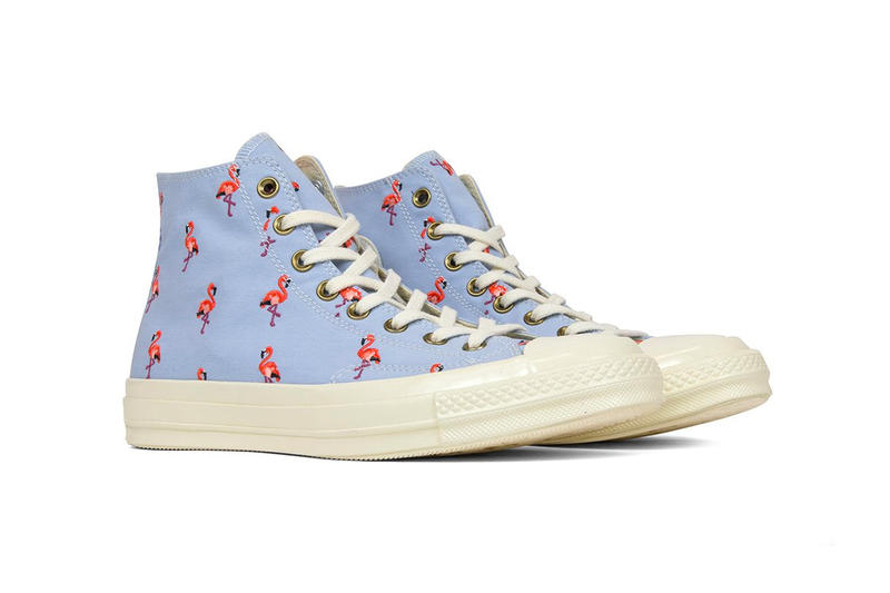 Converse Chuck Taylor '70 Embroidered Flamingo All star high tops release info purchase