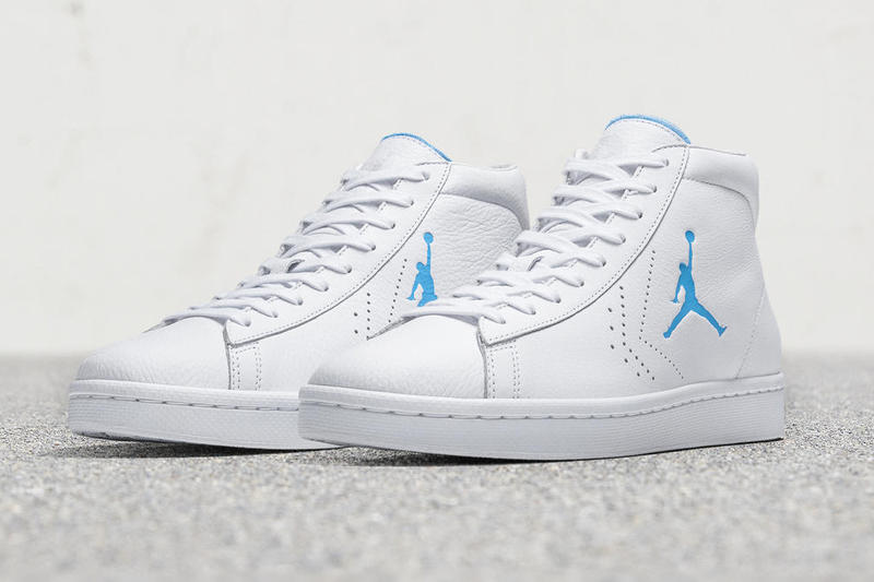 Converse Pro Leather Birth of Michael Jordan Air Jordan Brand Tinker Hatfield Dan Sunwoo NCAA University of North Carolina release