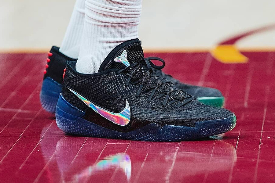 reputable site ca7ad a6fa2 DeMar DeRozan Hit the Court Sporting the All-New Nike Kobe A.D. NXT 360