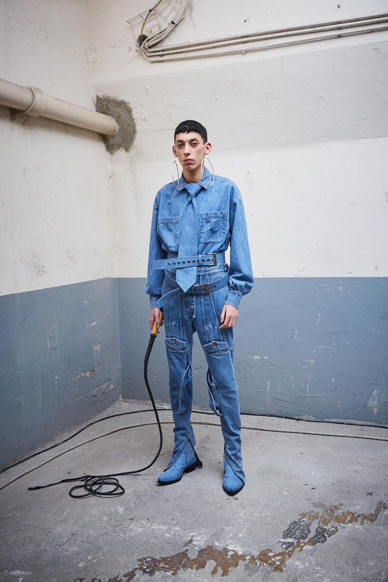 Diesel red tag project shayne oliver debut collection paris fashion week fall winter 2018 debut collaboration design