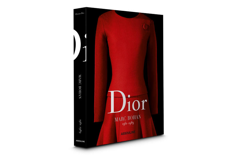Dior Marc Bohan Anthology Book Fashion Print Couture Assouline