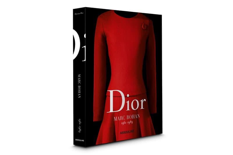 Dior Marc Bohan Anthology Book Fashion Print Couture Assouline