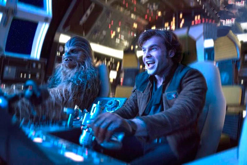 Disney Solo A Star Wars Story Stolen Artwork Posters Hachim Bahous