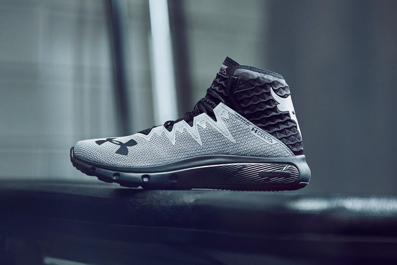 Under Armour The Rock Dwayne Johnson Project Rock Chase Greatness Collection footwear apparel 2018