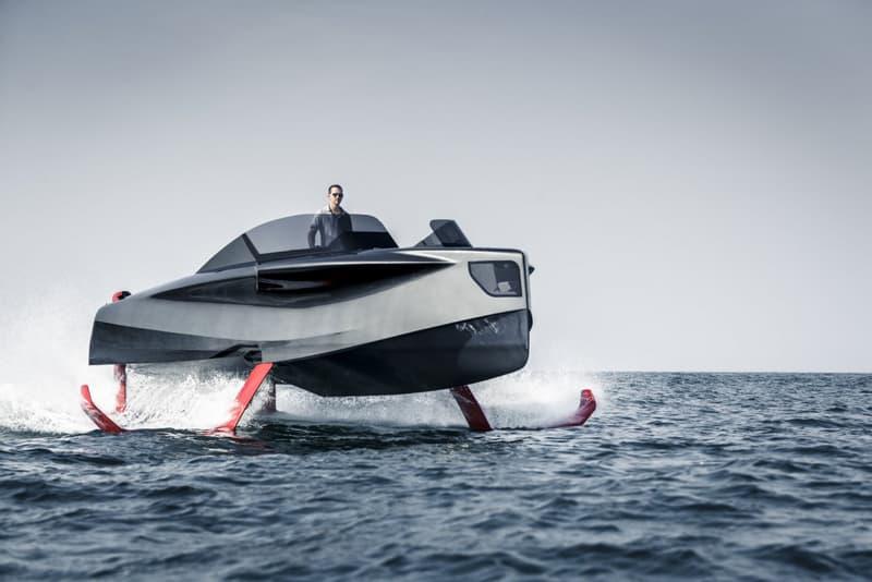 ENATA Foiler Flying Yacht Marine Vehicles Luxury Boats