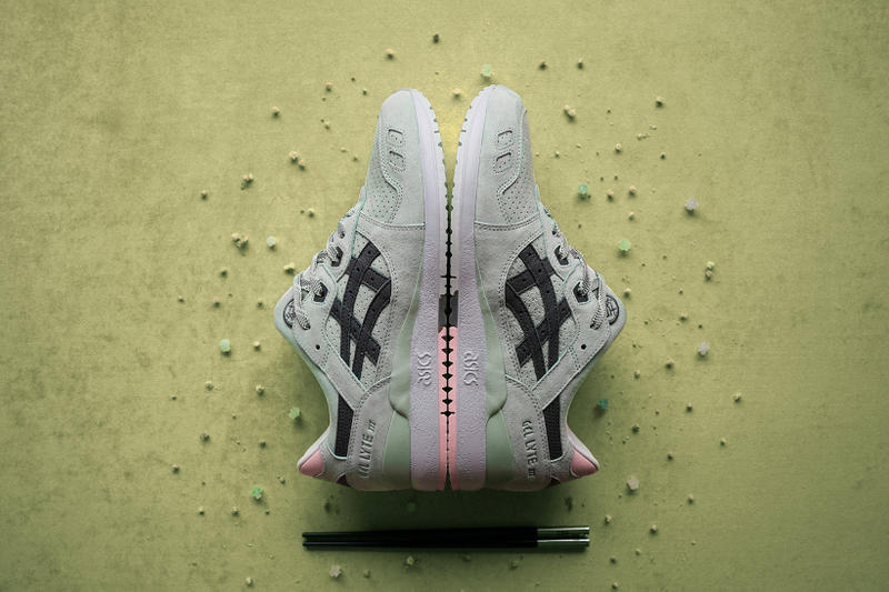 END. Clothing ASICS GEL-LYTE III 'Wasabi' END. Launches Bento Sushi Chopsticks Sneakers