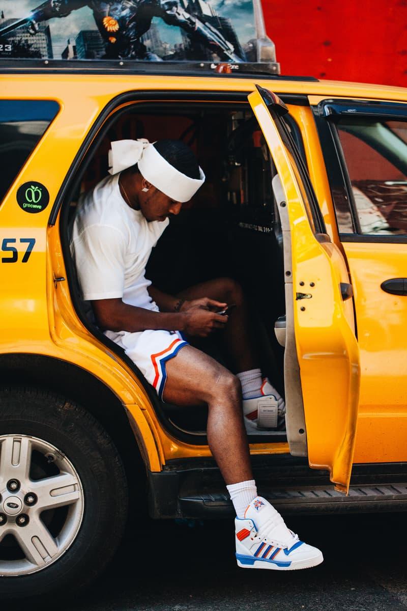 Eric Emanuel Knicks Basketball Short fashion Fabolous Editorial 2018