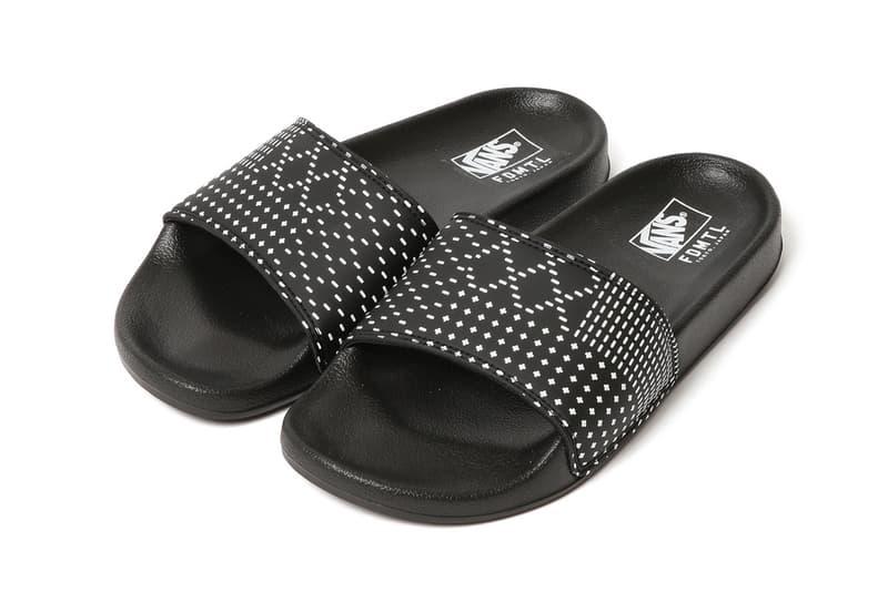 fdmtl vans slippers footwear boro stitching japan craftsmanship streetwear fashion