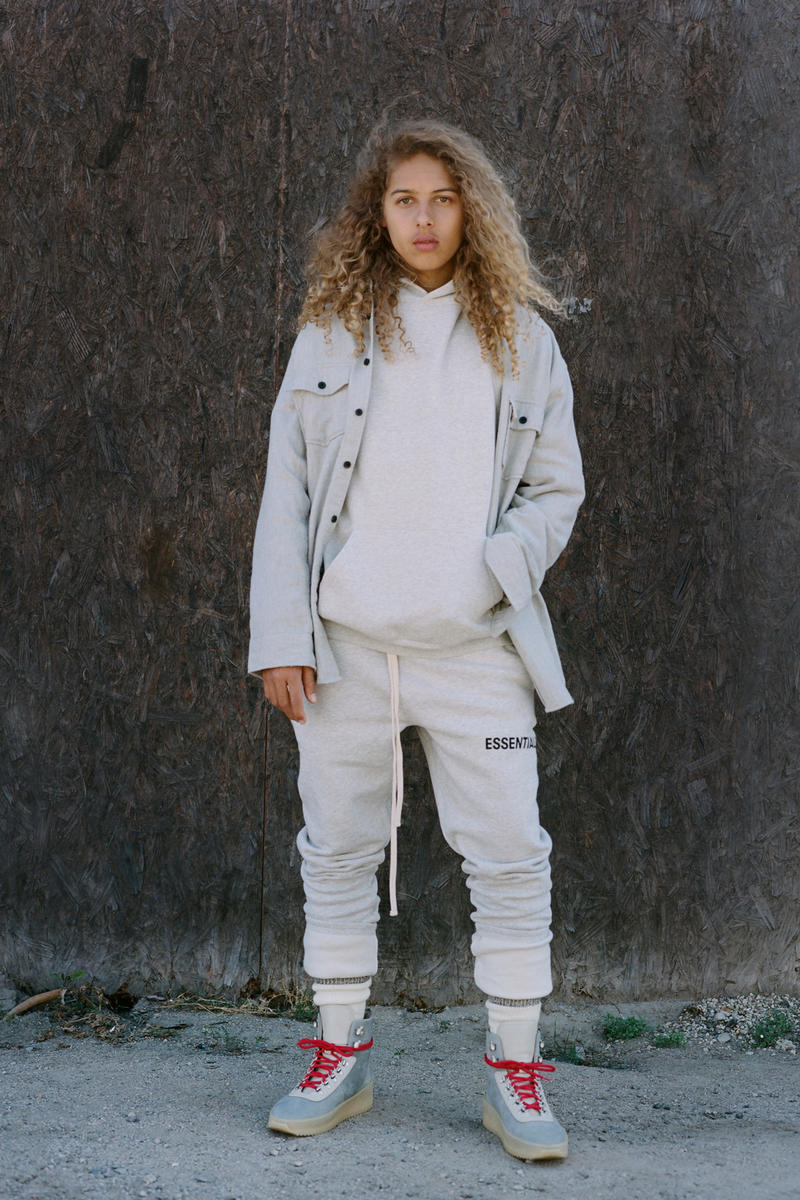Fear of God essentials collection spring summer 2018 release drop date lookbook info jerry lorenzo