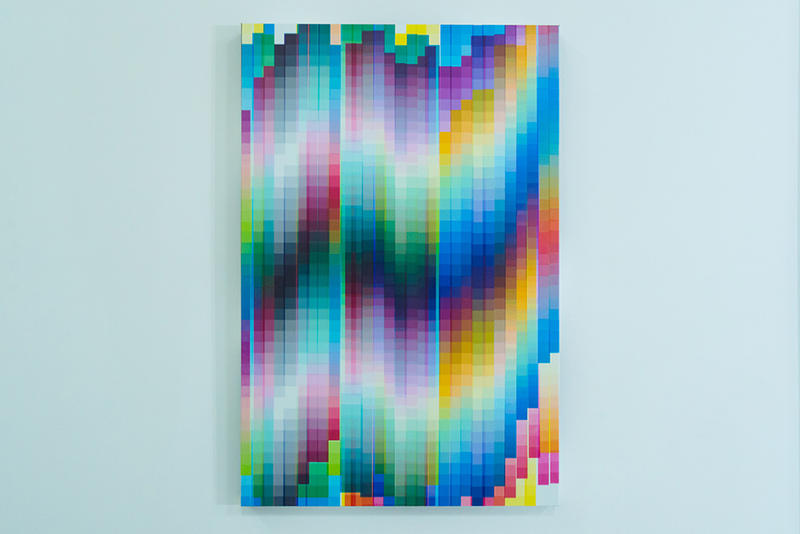 felipe pantone dynamic phenomena magda danysz gallery exhibition paris france art artwork sculpture installation