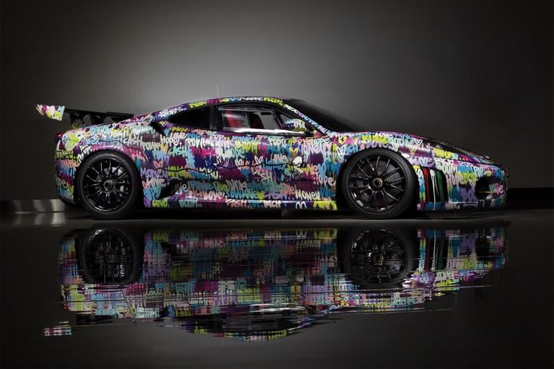 Ferrari F430 Challenge Art Car Ben Levy