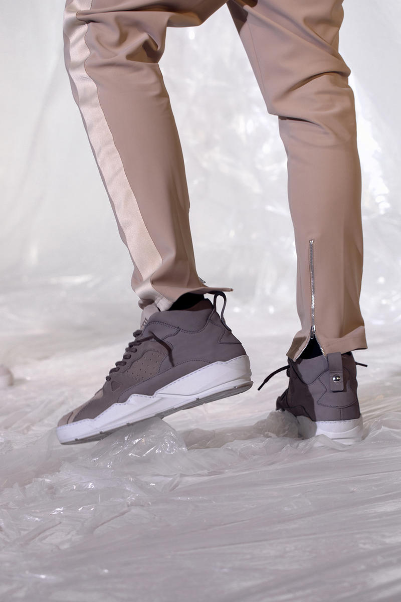 Filling Pieces apparel ready-to-wear Barneys Spring/Summer 2018 Sneakers Amsterdam Frank Lloyd Wright architecture Guillaume Philibert