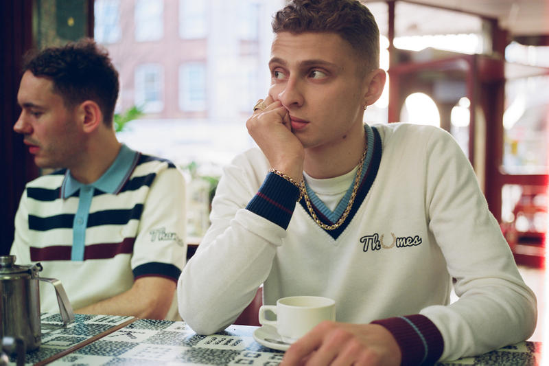 Thames Fred Perry Laurel Wreath Spring/Summer 2018 Lookbook Collaboration Blondey McCoy