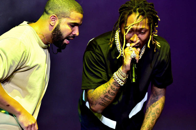 Future Drake music entertainment 2018 What a Time to Be Alive Used to This